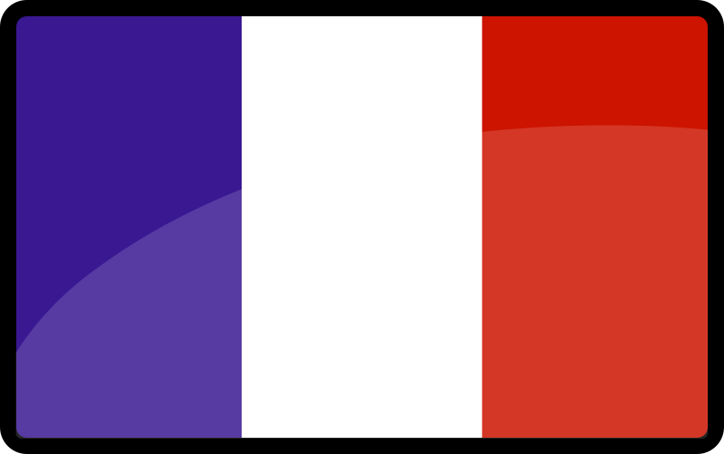 French flag by inouire - The french flag / Le drapeau français