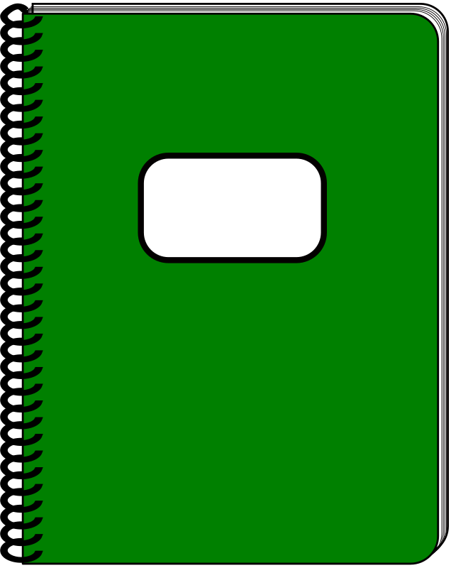 notebook cover clipart - photo #39