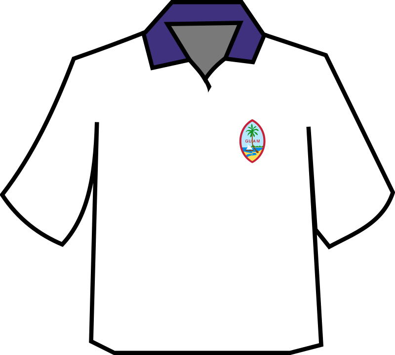 T-shirt by zeimusu - T shirt with Guam badge
