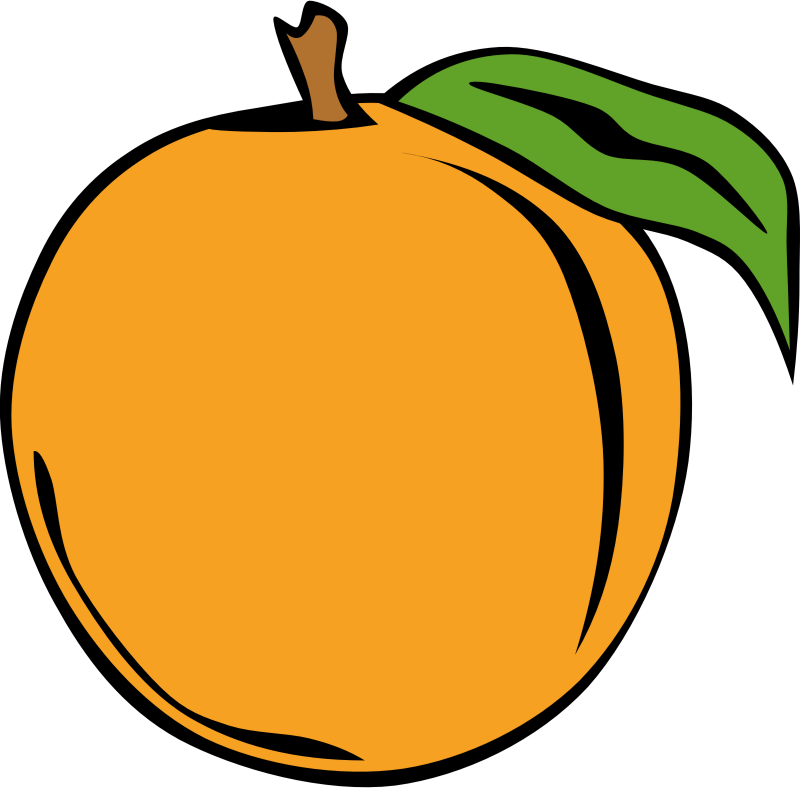Simple Fruit Peach by Gerald_G