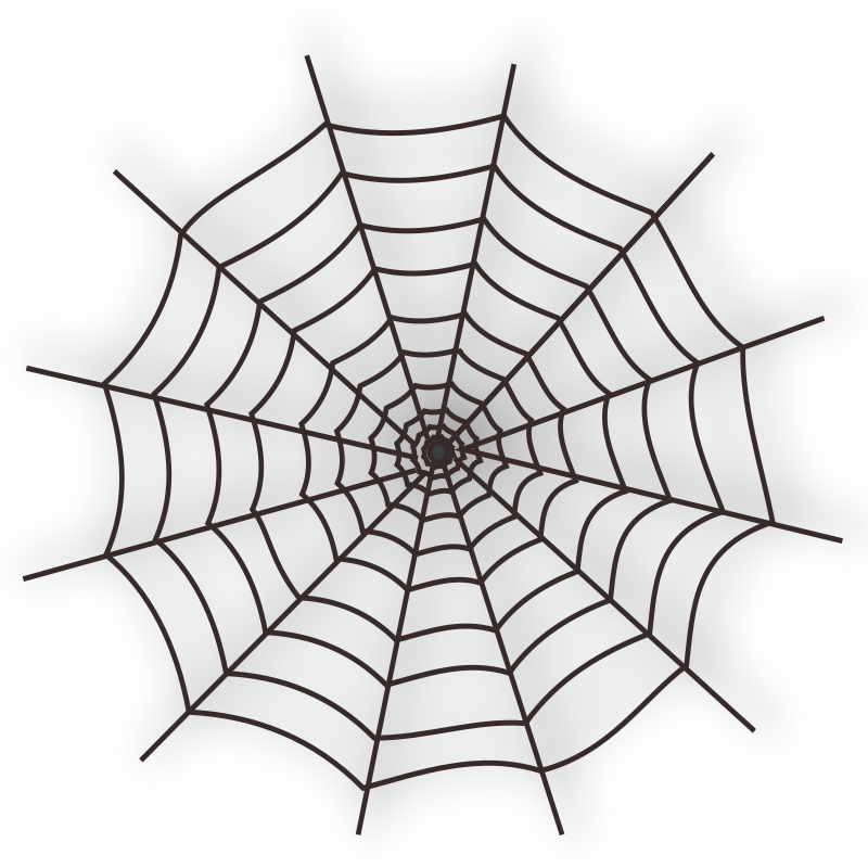 Halloween Spider Web Icon by netalloy - Halloween Clip Art by NetAlloy