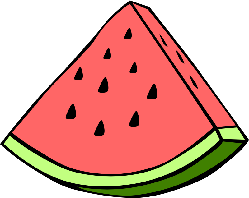 Simple Fruit Watermelon by Gerald_G - Simple fruit watermelon.