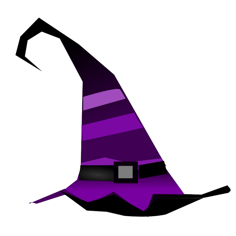 Witch Hat by netalloy - Halloween Clip Art by NetAlloy