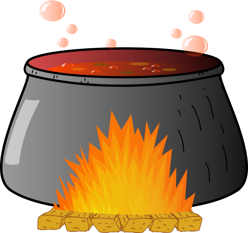 Bubbling Cauldron by naoshika - A bubbling witches cauldron. Just add a witch!