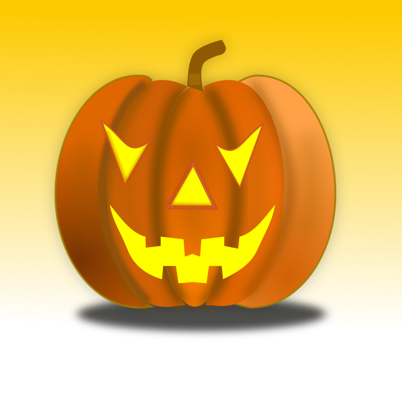 Halloween Pumpkin Icon 64x64 by netalloy - A jack-o'-lantern (sometimes also spelled Jack O'Lantern) is typically a carved pumpkin. It is associated chiefly with the holiday Halloween, and was named after the pheno