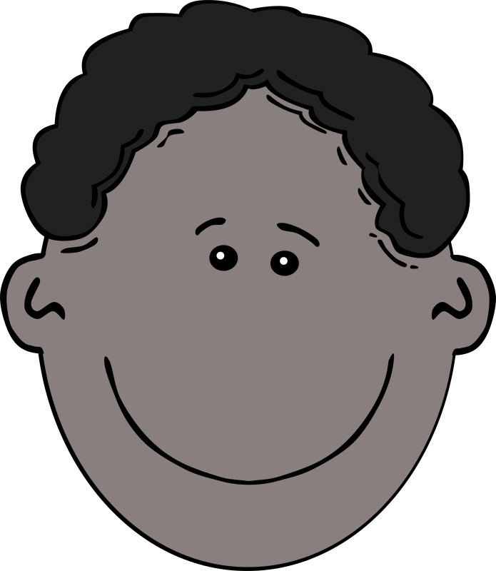 Boy Face Cartoon by Gerald_G