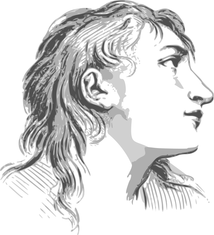 Face expression woman by dominiquechappard - This clipart is an interpretation from the original drawing from Charles Lebrun published in 