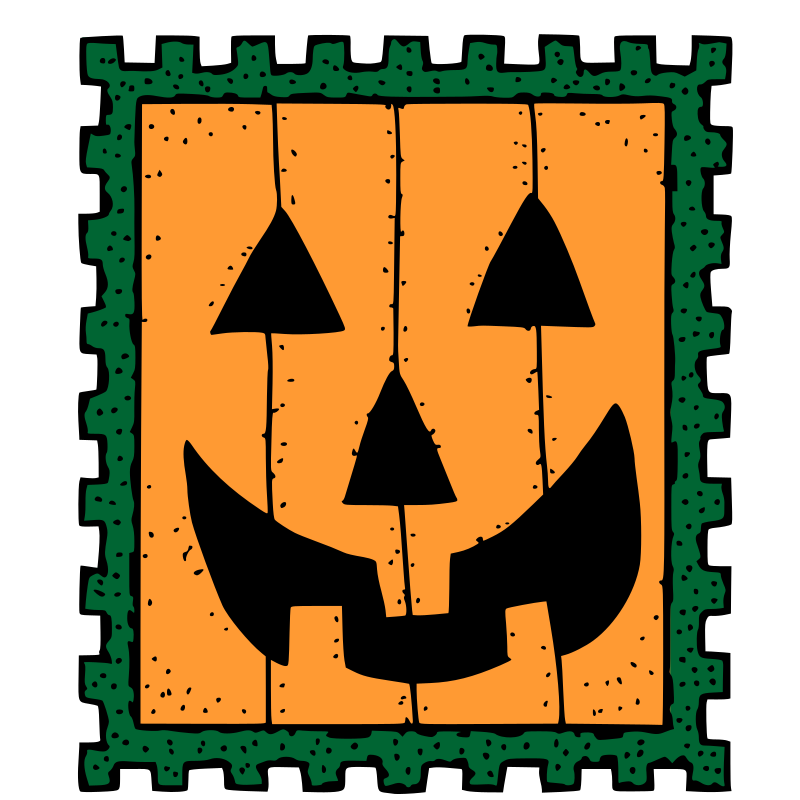 Halloween stamp by rones