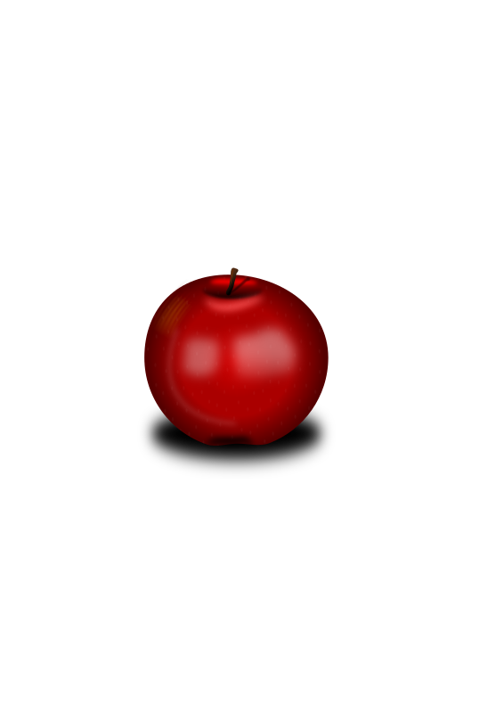 Manzana by raul - Red apple
