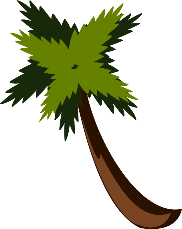PalmTreeBySteve by stevepetmonkey - Palm Tree By Steve, my first ever vector drawing, made following a tutorial I found for Inkscape.