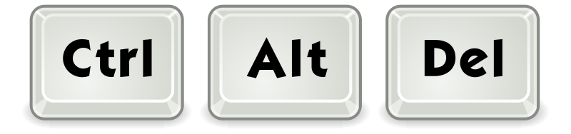 Ctrl+Alt+Delete by jhnri4 - Based on Tango's keycap icon (specifically tango-icon-theme/scalable/apps/accessories-character-map.svg)