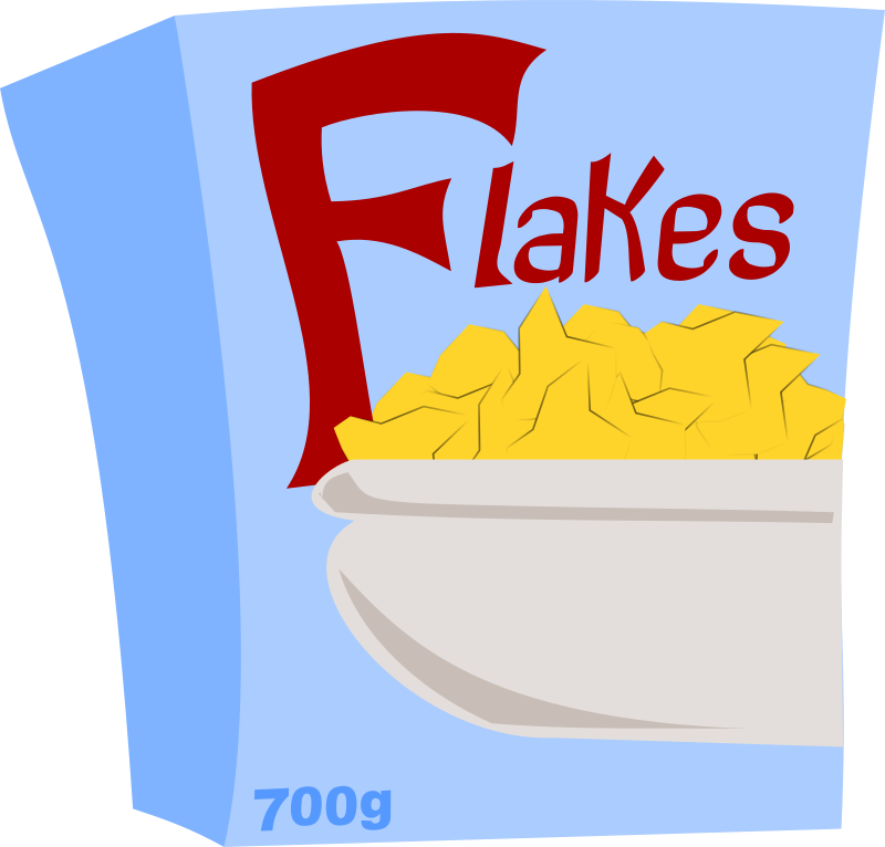 Special Flakes by stevepetmonkey - A box of Special flaKes.