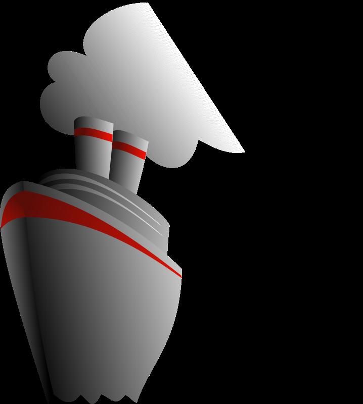 Clipart Elegant Steam Liner