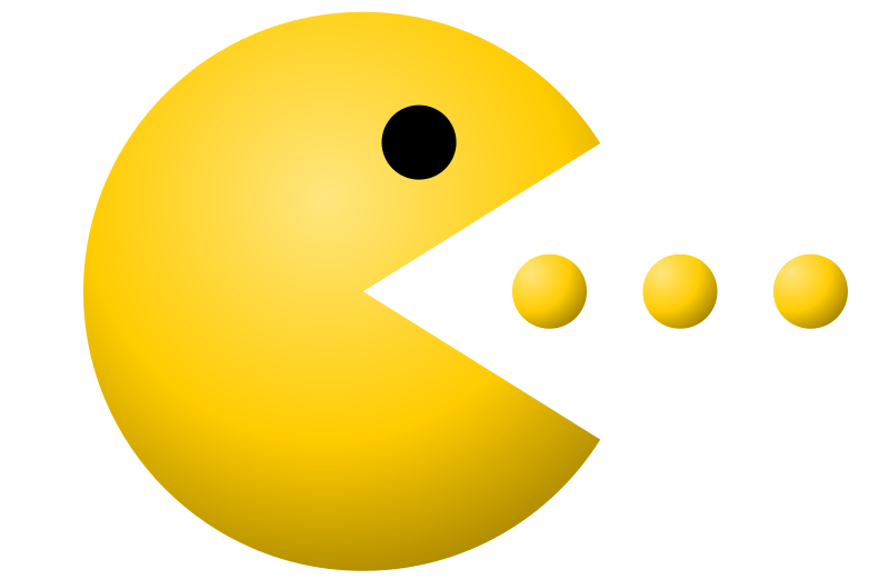 Pac-Man by jhnri4 - Pac-Man image I created from scratch.