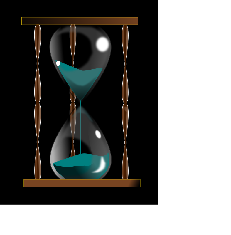 Hourglass (Ampulheta) by BettoCoutinho - Old hourglass, my first vector - inkscape 0.48