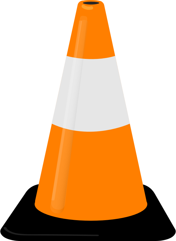 Cone by Milkman666 - This is a plain old, humble traffic cone (pylon)