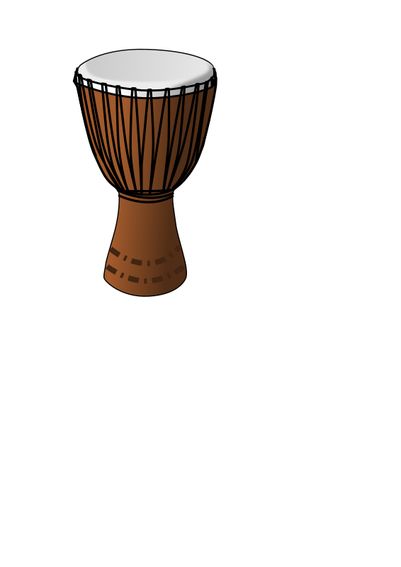 Djembe drum by Eggib - African djembe drum