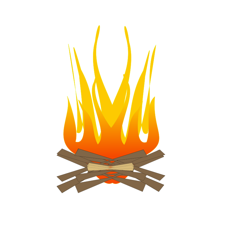 fire by netalloy - burning, camp fire, clip art, clipart, cremation, fire, flame, heat, ritual,