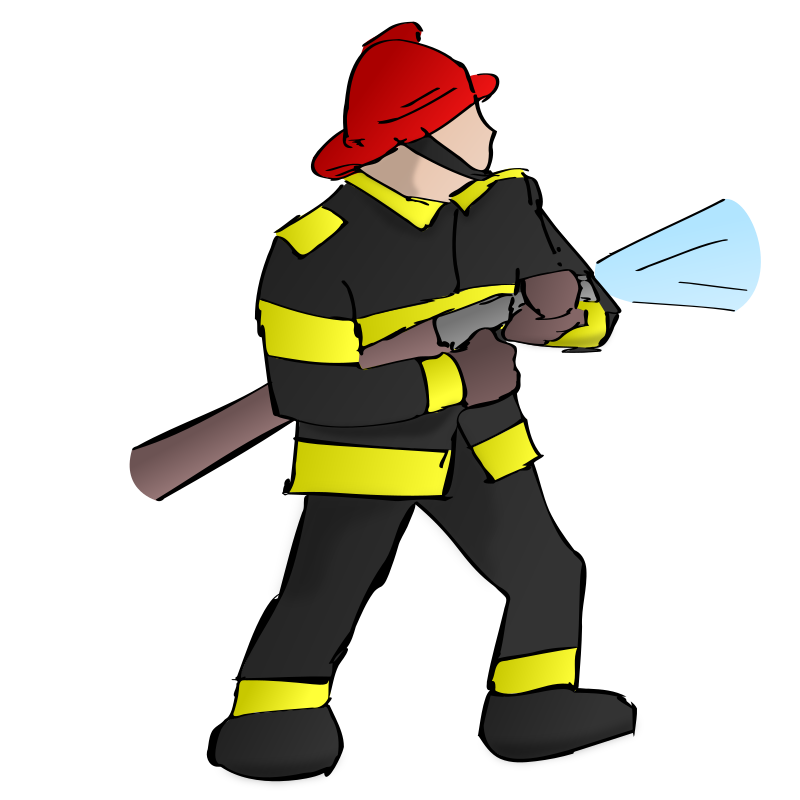 Clipart Fire Fighter