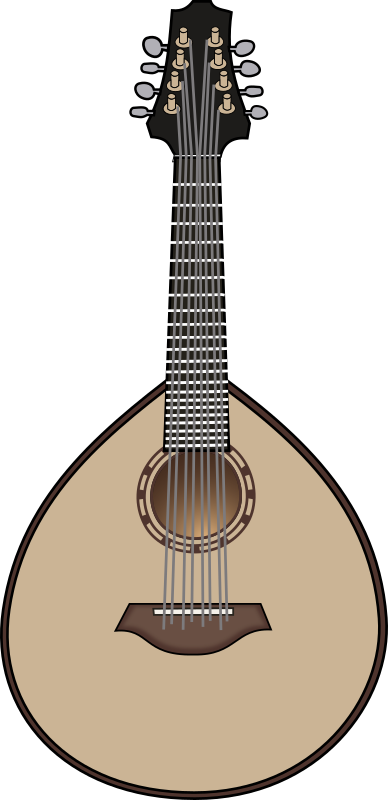 lute 2 by papapishu - I'm not really sure whether it's a lute or mandolin.