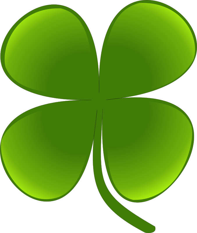 Clipart - shamrock for march natha 01