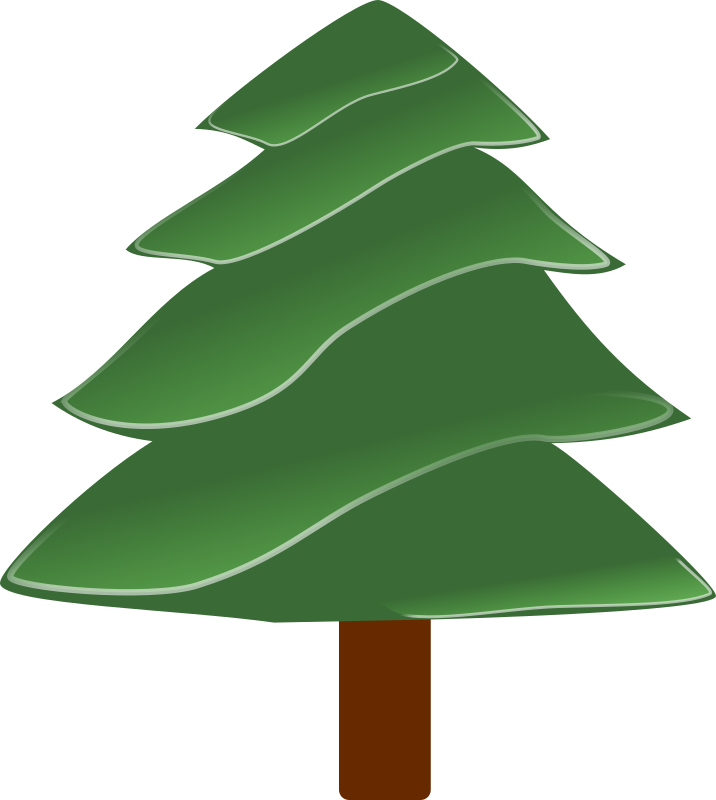 simple evergreen with highlights 01 by Anonymous - Originally uploaded for OCAL 0.18 by Nathan Eady