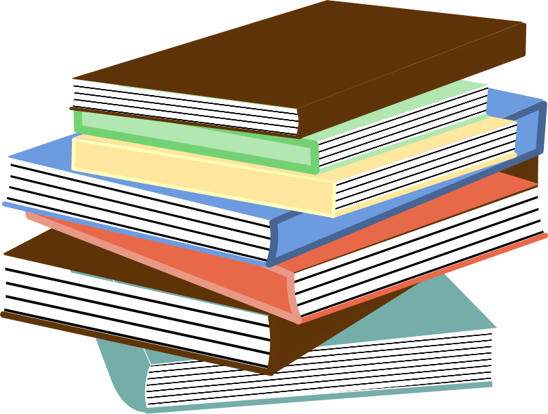 stack of books 01 by Anonymous - Originally uploaded for OCAL 0.18 by