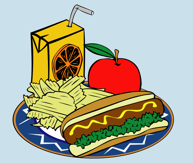 "Fast Food, Menu, Sample Usage by Gerald_G - This Clip Art is part of a fast food menu set. Search for ""fastfood"" to find all."