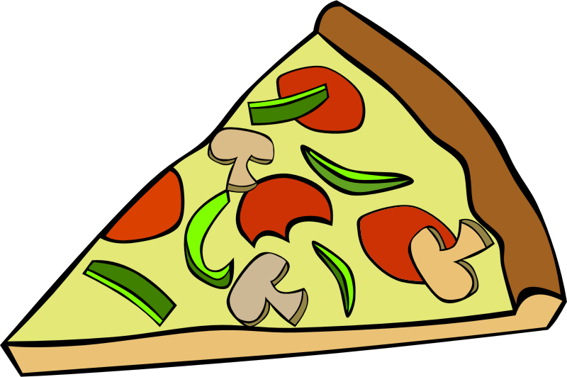 "Fast Food, Snack, Pizza, Pepperoni Mushroom by Gerald_G - This Clip Art is part of a fast food menu set. Search for ""fastfood"" to find all."