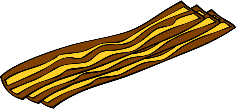 "Fast Food, Breakfast, Bacon by Gerald_G - This Clip Art is part of a fast food menu set. Search for ""fastfood"" to find all."
