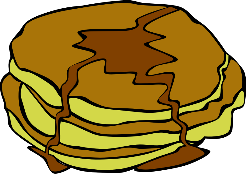"Fast Food, Breakfast, Pancakes by Gerald_G - This Clip Art is part of a fast food menu set. Search for ""fastfood"" to find all."