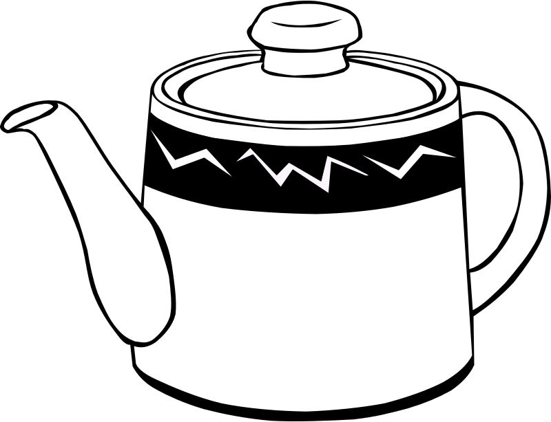 "Fast Food, Drinks, Tea, Pot by Gerald_G - This Clip Art is part of a fast food menu set. Search for ""fastfood"" to find all."