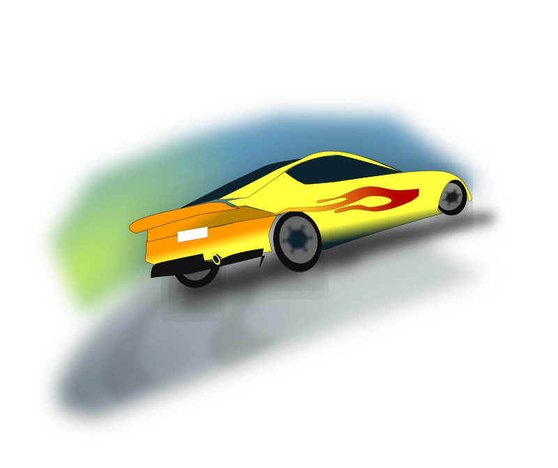 Rally Car2 by netalloy - motorsports clipart by netalloy