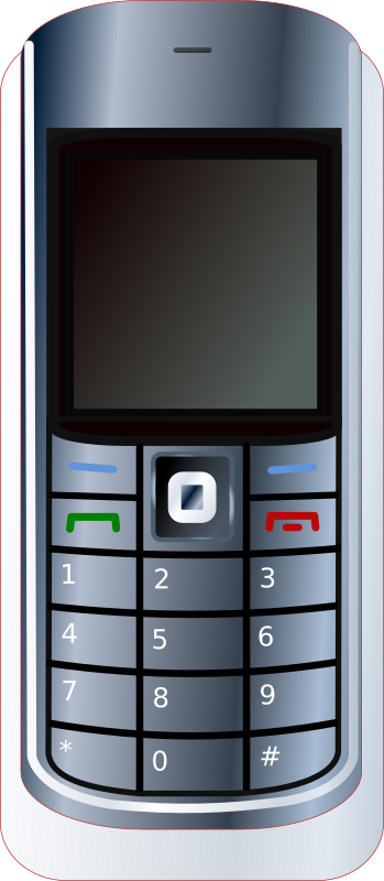 Cell Phone by paco758 - This is an actual depiction of the cell phone that I have in Egypt.