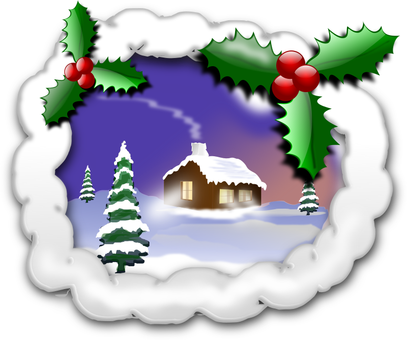 CHRISTMAS 001B by inky2010 - Some Christmas Clip Art