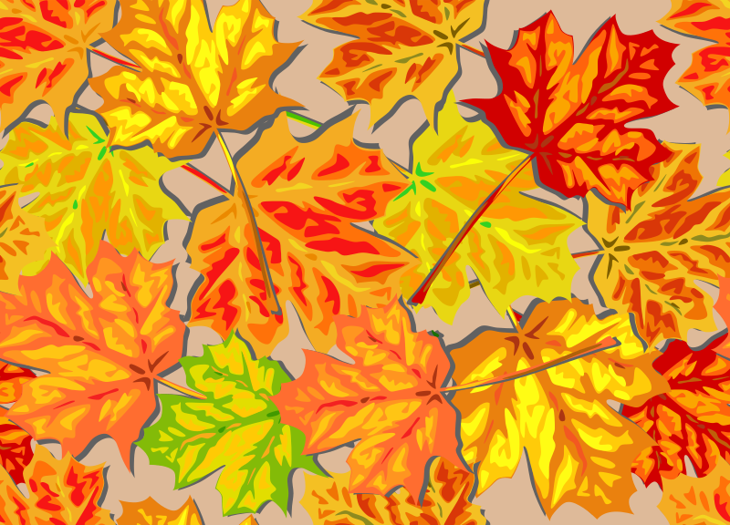 Fall Leaves, SuperBright by eady