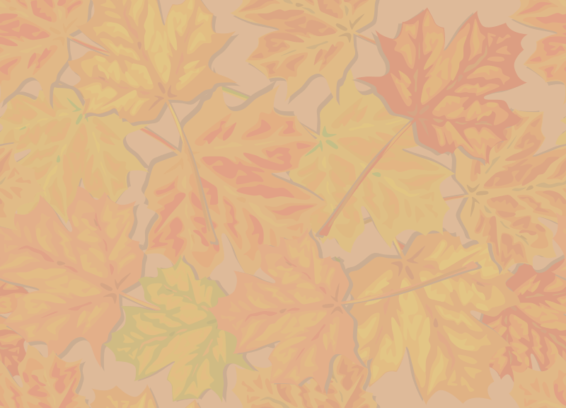 Fall Leaves, Faded by eady - Here's a faded-out version, more suitable for use behind text.
