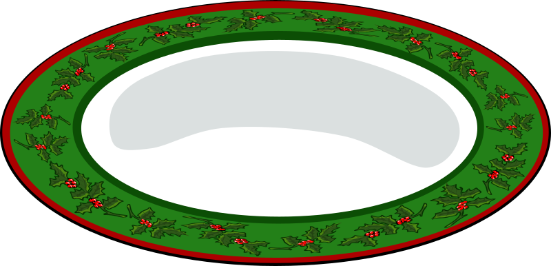 Christmas Plate by eady