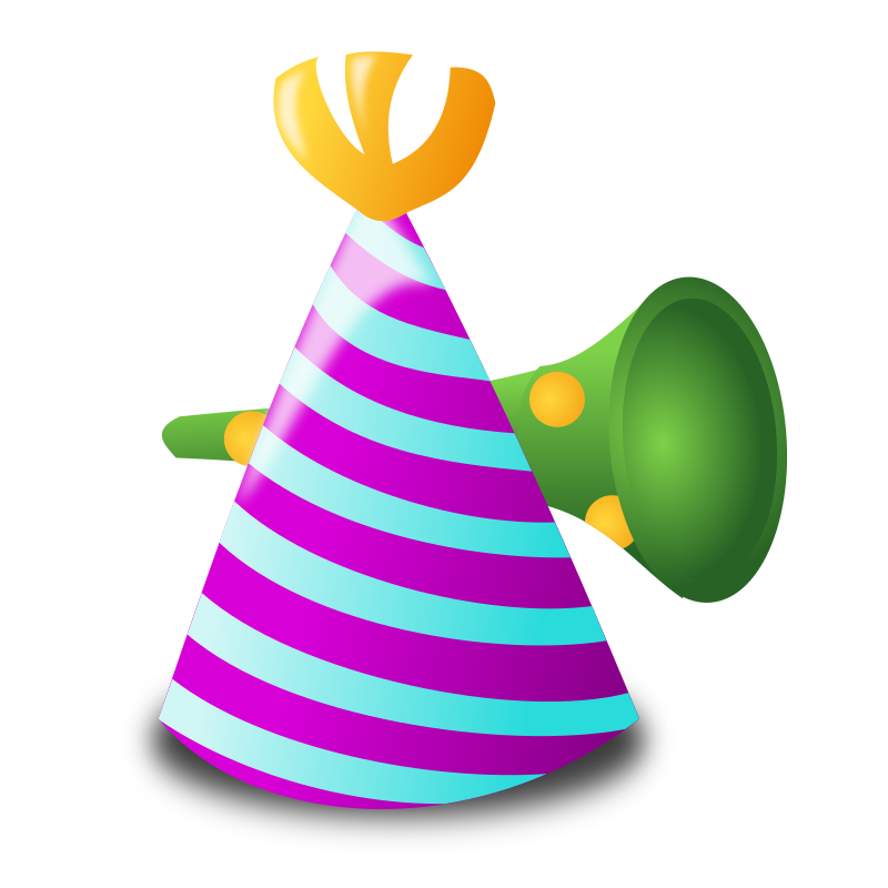 "Birthday Icon by nicubunu - Birthday - hat  Part of the ""Events"" set made for WorldLabel.com"