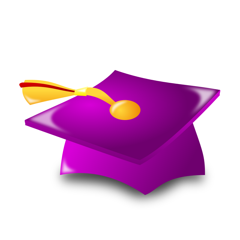 "Graduation Icon by nicubunu - Graduation - hat  Part of the ""Events"" set made for WorldLabel.com"