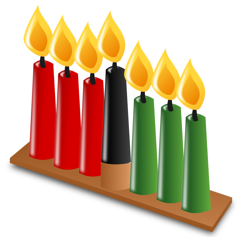 "Kwanzaa Icon by nicubunu - Kwanzaa - candles  Part of the ""Events"" set made for WorldLabel.com"