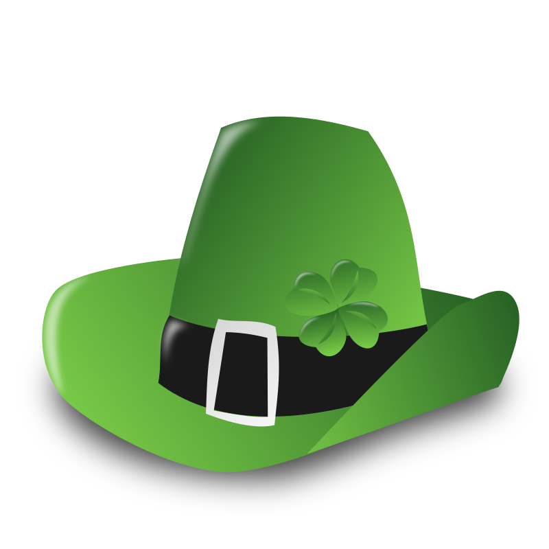 "Saint Patrick Day Icon by nicubunu - Saint Patrick Day - Irish hat  Part of the ""Events"" set made for WorldLabel.com"