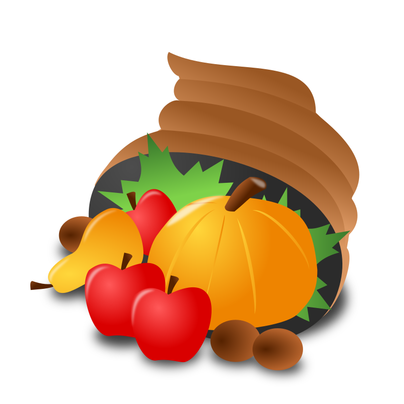 "Thanksgiving Day Icon by nicubunu - Thanksgiving Day - abundance  Part of the ""Events"" set made for WorldLabel.com"