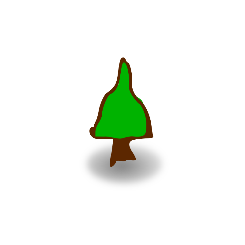 RPG map symbols: tree by nicubunu - Part of the fantasy RPG map elements collection: tree