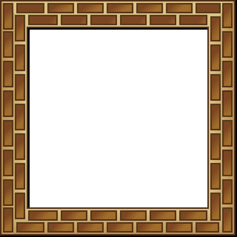 RPG map brick border by nicubunu - Role playing game map border tile.