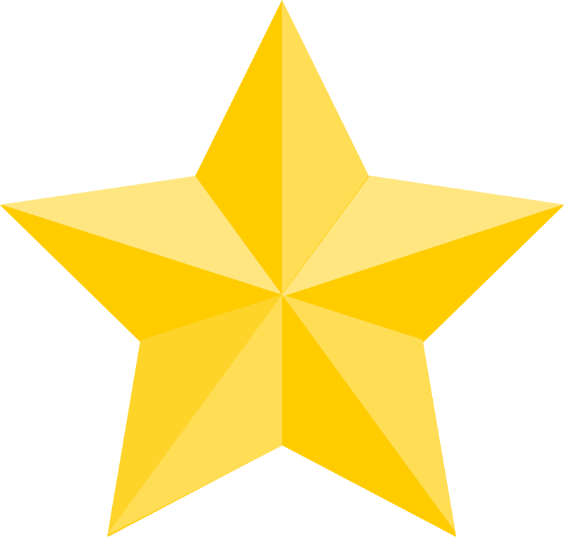 Star by artokem - A star with simple shadowing