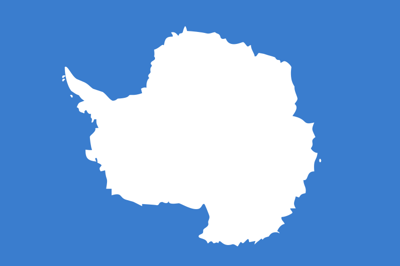 Antarctica flag by Anonymous -