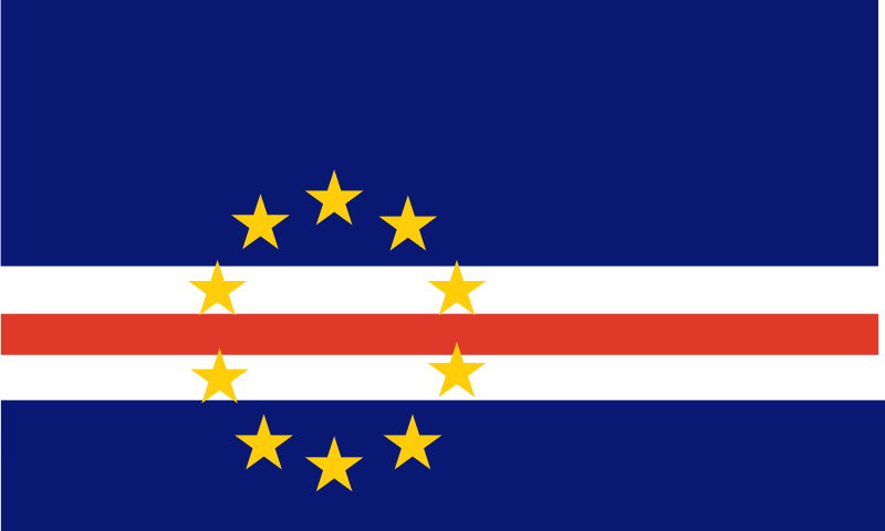 Flag of Cape Verde by Anonymous
