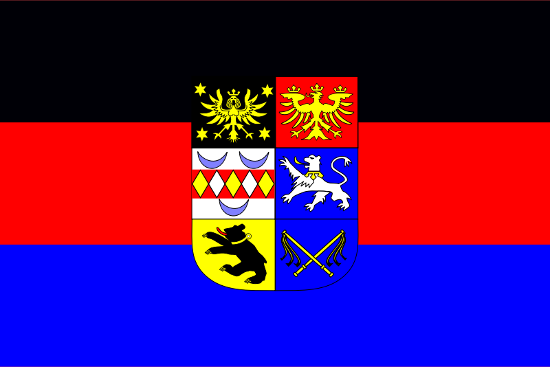 Flag of East Frisia  by Anonymous - Flag of the region of Germany known as East Frisia