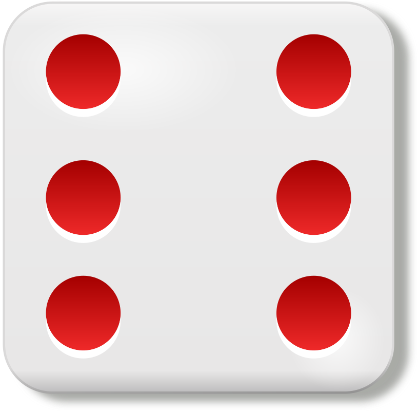 dado 6 by rg1024 - The six sides of a dice